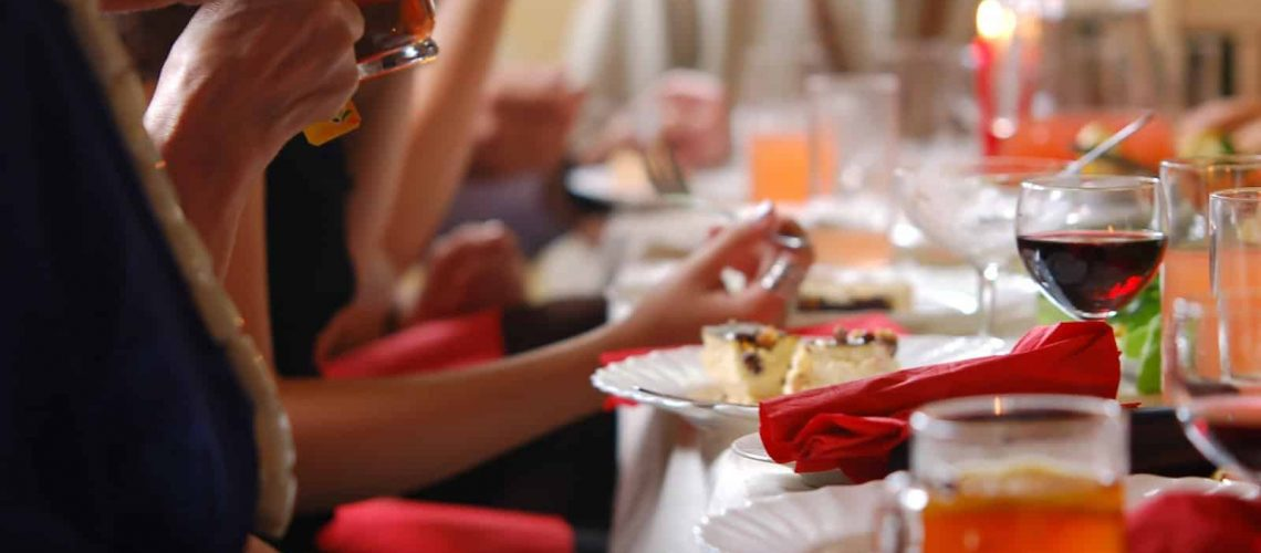 ארוחה באירוע פרטי